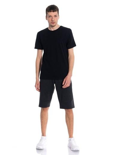 Slazenger Slazenger SUN Erkek T-Shirt  Siyah